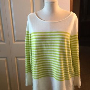 Very comfortable cotton pullover sweater.